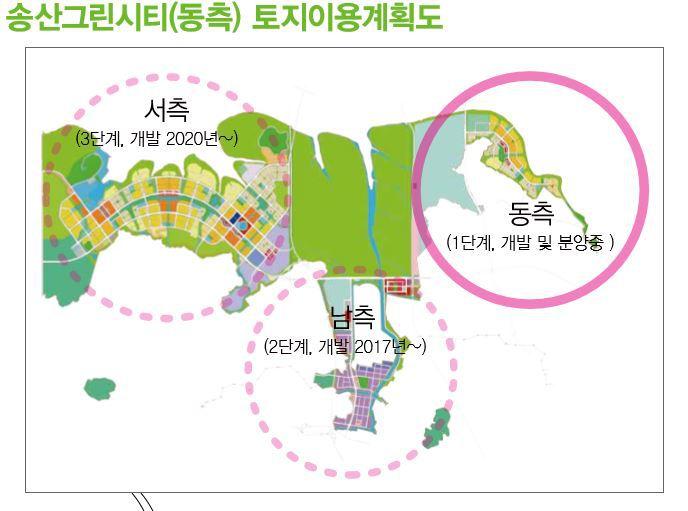 송산그린시티 동측 단독주택 분양