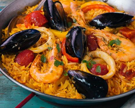 스페인의 대표 쌀요리!... '달달 볶아 파에야'