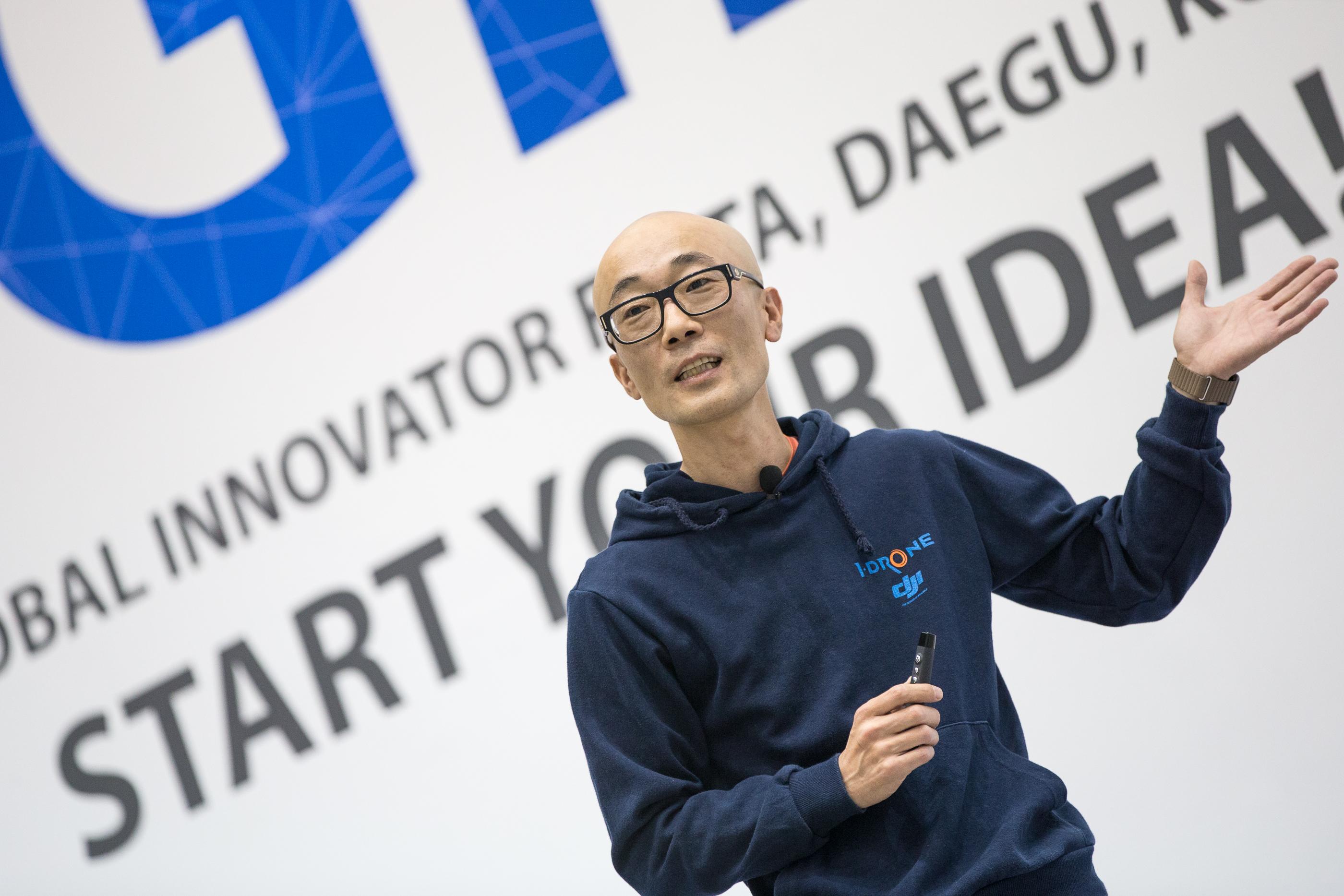 지구촌 청년들의 ICT 축제 GIF 2015 주제 강연, 아이드론 정동일 대표가 말하는 융합기술의 결정체 '드론'의 만남!